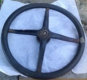 1920 S Ford Dodge Rat Model T Vintage Steering Wheel With Mounting Spindle