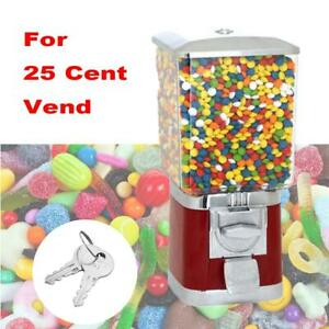 Automatically Candy Dispenser Toys Vending Machine Gumball Bank Bubble Gum Nuts