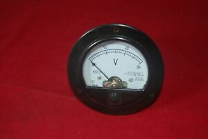 Dc 0 30v Round Analog Voltmeter Voltage Panel Meter Dia 90mm Directly Connect