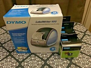 New In The Box Dymo Labelwriter 400 Thermal Printer Usb Label Maker W labels