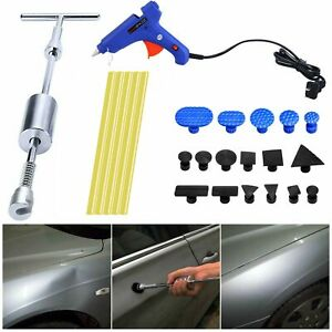 Car Dent Puller Kit Paintless Dent Repair Remover Pro Slide Hammer Tools Pdr