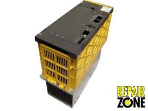 A06b 6087 h130 Fanuc Power Supply Remanufactured 1 Year Warranty 250 Core Ex
