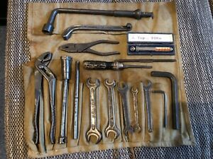 Mercedes Benz W120 Ponton Tool Toolkit Bag Toolbag Hazet Klein Messko Dowidat