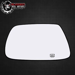 New Driver Side Mirror Heated Glass W Backing Fits 2005 2010 Jeep Grand Cherokee