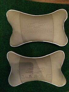 Chevrolet Car Truck Suv Seat Headrest Pillows X2