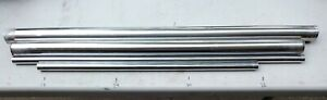 9ll47 Assorted Metal Tubing Stainless Steel And Chromed Brass Very Good Cond