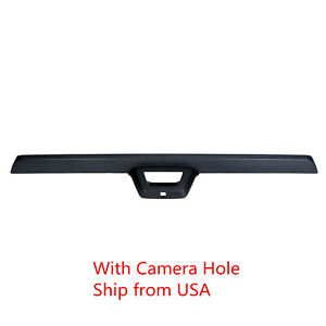 Tailgate Gate Molding Spoiler For 07 13 Avalanche Escalade Ext W camera Hole