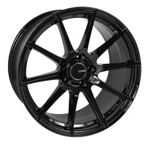 18x8 40 Enkei Ts10 5x114 3 Gloss Black Rims Fits Veloster Mazda Speed 3