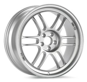 18x7 5 48 Enkei Rpf1 5x112 Silver Paint Wheels set