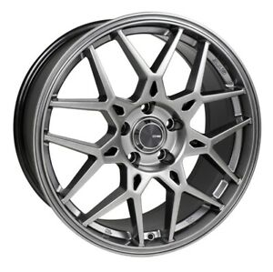 17x7 5 50 Enkei Pdc 5x114 3 Hyper Grey Rims Fits Tc Xb Mazda Speed 3