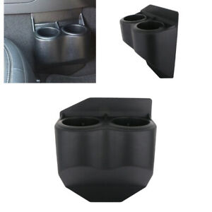For 1997 2013 C5 C6 Corvette Travel Buddy Double Dual Cup Drink Holders Black