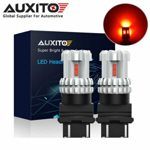 Auxito 3157 3156 Red Led Brake Tail Light For Chevrolet Silverado 2500hd 2010 14
