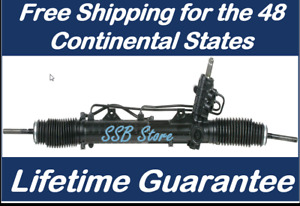 Power Steering Rack And Pinion Assembly Fits Bmw 325xi 330xi