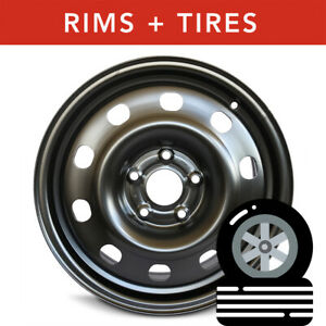 2x Chrysler Town Country 2008 2016 17 Oem Wheels New 225 65r17 Tires