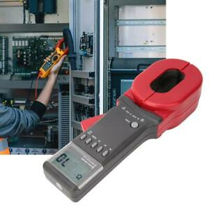 Etcr2000a Lcd Handheld Digital Clamp Meter Ground Earth Resistance Tester