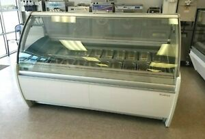 Ice Cream Display Infrico Curved Glass