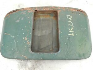 Porsche 356 Engine Motor Deck Lid Cover Coupe Flat Tray Pre A Pre a 03