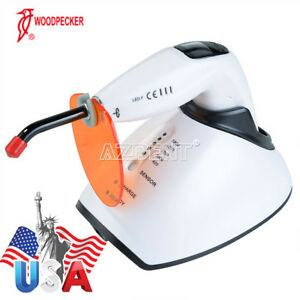 Woodpecker Dental Led Wireless Curing Light Lamp Led f 1800mw cm