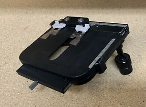 Nikon Xy Microscope Stage With Specimen Slide Clip For Labophot Optiphot