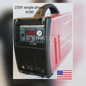80amp Avortec Xc80 Plasma Cutter Single Phase 220v cnc Table Ready torch Ipt 80