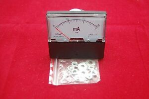 1pc Ac 0 30ma Analog Ammeter Panel Amp Current Meter 60 70mm Directly Connect