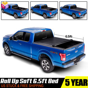 Soft Roll Up Tonneau Cover For 1999 07 Chevy Silverado 1500 2500 3500 6 5ft Bed