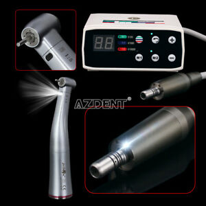 Dental 1 5 Fiber Optic Contra Angle Handpiece brushless Electric Micro Motor
