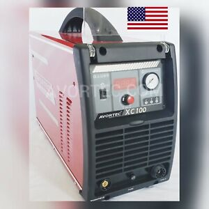 100a Avortec Xc100 Plasma Cutter 1 Phase 220v cnc Table Ready cnc Torch Ptm100