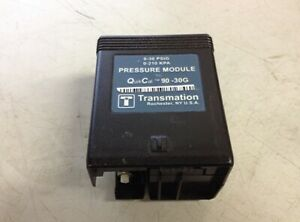 Transmation Quick Cal 90 30g Pressure Module Has Cosmetic Damage