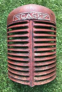 Vintage Sc Case Tractor Grill With Emblem