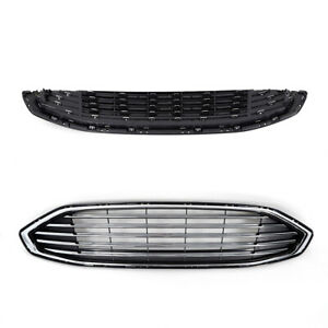 New Front Upper Bumper Hood Grille Grill Black For 2005 2011 Tacoma