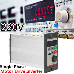 Variable Frequency Drive Vfd Single Phase Micro Motor Speed Inverter 0 2kw 220v