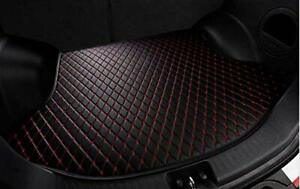 Rear Cargo Liner Tray Leather Black Red Mat Cover For Honda 2013 16 Accord Trunk
