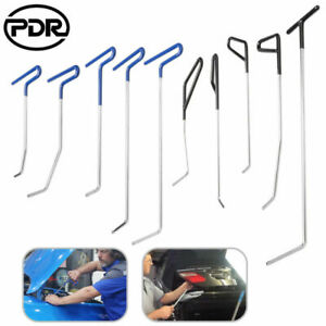 10 Pdr Tools Push Rods Spring Steel Puller Paintless Dent Repair Removal Tail