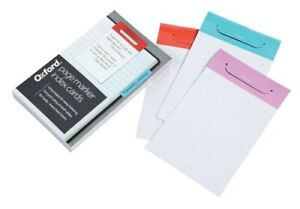 Oxf334301 Oxford Index Card Page Markers 3 X 5 Dot Grid Ruled Assorted Col
