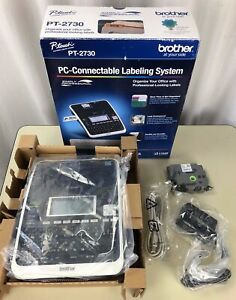 Brother P touch Pt 2730 Pc connectable Labeling System Label Maker New Labels