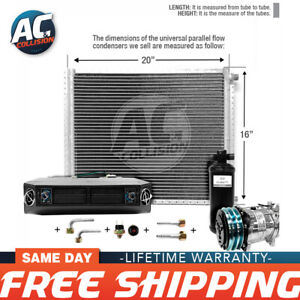 Ac Kit Universal Evaporator Underdash Unit Compressor And Condenser 16 X 20