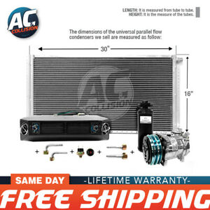 Ac Kit Universal Evaporator Underdash Unit Compressor And Condenser 16 X 30