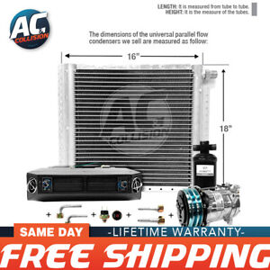 Ac Kit Universal Evaporator Underdash Unit Compressor And Condenser 18 X 16