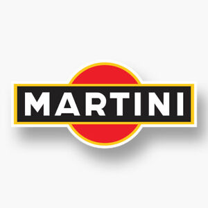 Martini Sticker Vinyl Decal Car Window Racing Sponsor Motorsport Vintage Car