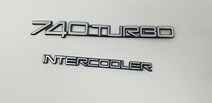 Volvo 84 90 740 760 Turbo Intercooler Emblem