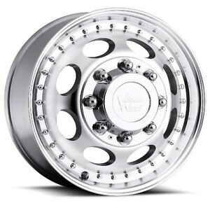 19 5x6 75 Vision 181 Hauler Dually 8x200 Et 143 Machined Wheels set