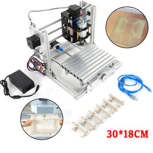 Cnc 3018 3axis Pro Machine Router Engraving Pcb Wood Diy Milling Engraver W er11