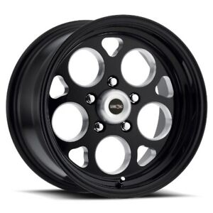 15x8 Vision 561 Sport Mag 5x114 3 Et0 Black Wheels Set