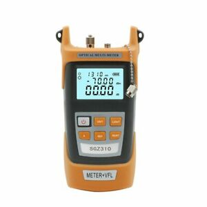 5km Visual Fault Locator Fiber Optic Cable Tester 70 3dbm Optical Power Meter D