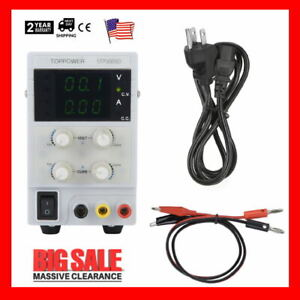 5 Types Dc Power Supply Adjustable Dual Digital Variable Precision Lab Grade