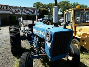 Used Ford 3600 Tractor Blue 1980