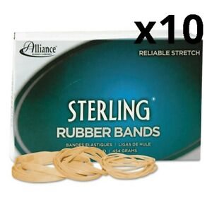 Sterling Rubber Bands Size 33 0 03 Gauge Crepe 1 Lb Box 850 box Pack Of