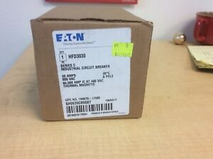 Cutler Hammer Hfd3030 Circuit Breaker New In Box