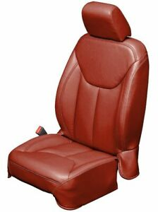 2013 18 Jeep Wrangler Jk 4 Door Custom Katzkin Cardinal Red Leather Seat Covers